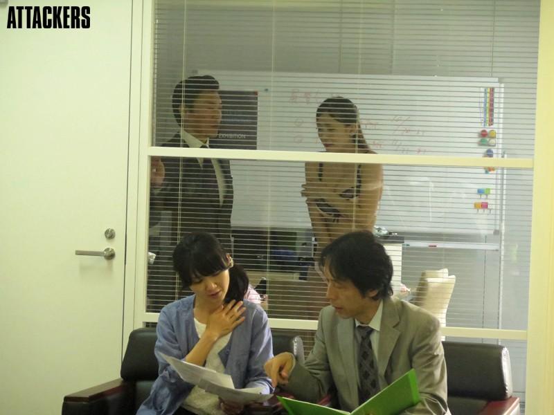 婚前OL 恥獄のオフィス 香椎りあ キャプチャー画像 1枚目