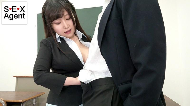 美白むちむち爆乳教育実習生の教師喰い。着衣性交の毎日に校内の秩序が乱れまくり。 夏希ゆめ1