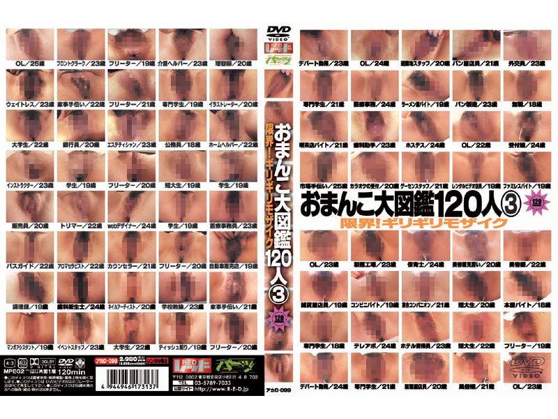 (akad099)[AKAD-099] おまんこ大図鑑120人 3 ダウンロード