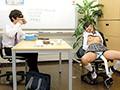 個別指導学習塾 メガネ女子○生拘束固定電...のサンプル画像 6