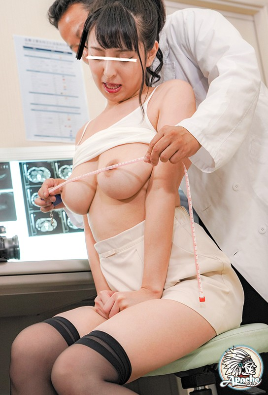 巨乳若妻 健康診断乳首こねくり回し中出し痴● 画像8