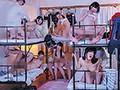 女子寮潜入!! 二段ベッド×3=6人同時多発中出し痴●