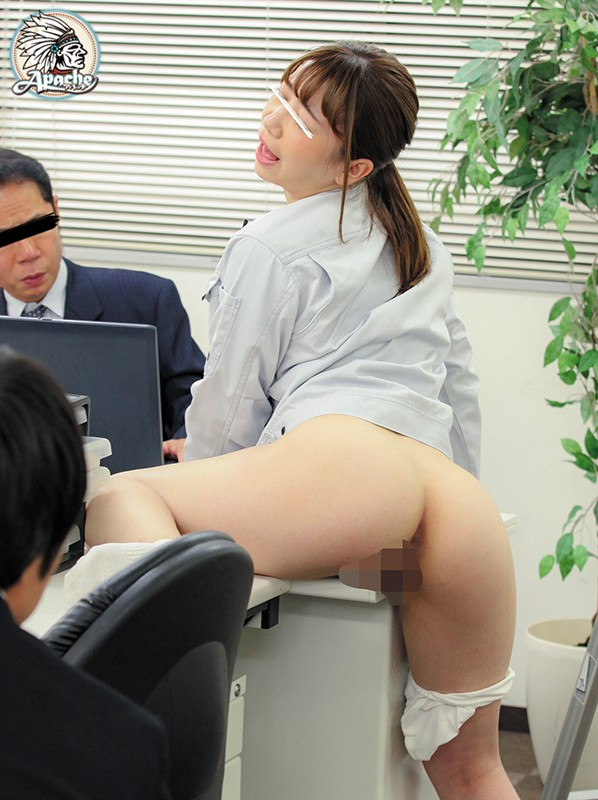 AP-743 Studio Apache - I Gave The Hottie In My Office An Aphrodisiac And Got Her All Hot And Bothered! This Makes Her Masturbate With Whatever She Can Get Her Hands On, And Soon Enough She's Loving Getting Fucked By All The Men Around! Her Whole Body Becomes An Ero big image 3