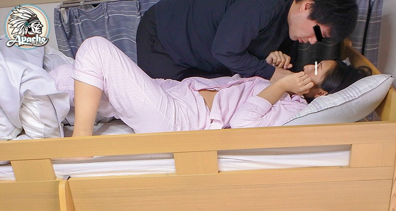 AP-767 Studio Apache - Slutty Guest House Sneaking Into The Bunk Bed For An Unbelievably Hard Creampie Piston Fuck big image 3