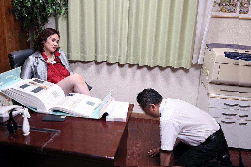 いびっていた取引先の男にデリヘルバイトがバレて一大事 生本番をさせられた挙句にバカにしていた部下にまで肉便器扱いされた女社長 松坂美紀 キャプチャー画像 1枚目