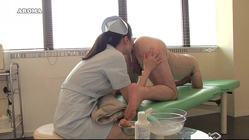 患者のアナルを剃毛してべろんべろんに嘗め回すナースのお仕事 画像10