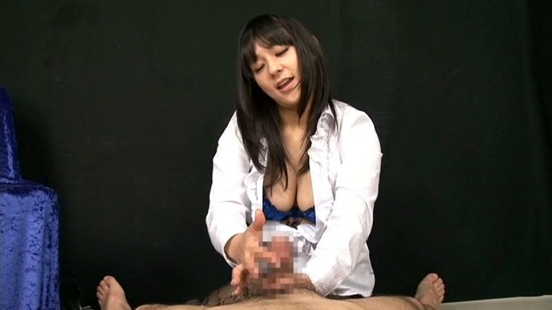 見つめられながらのささやき淫語とスローハンド手コキ 2|無料エロ画像15