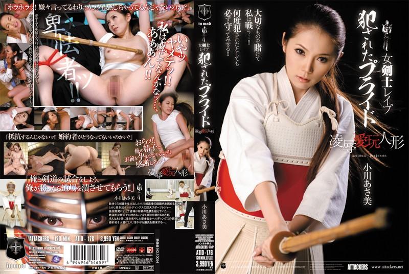 女剣士レイプ 犯されたプライド 凌辱愛玩人形 小川あさ美