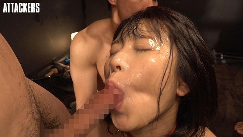 テニス部所属女子大生 監禁ぶっかけ凌辱 深田結梨 キャプチャー画像 9枚目