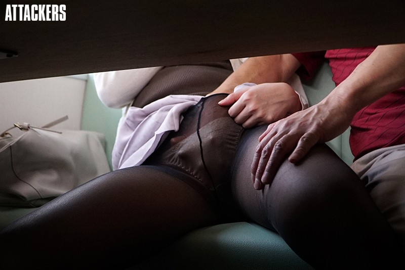 ATID-366 Studio Attackers - The Moist Pantyhose Of An Office Lady - Nanaho Kase - big image 1