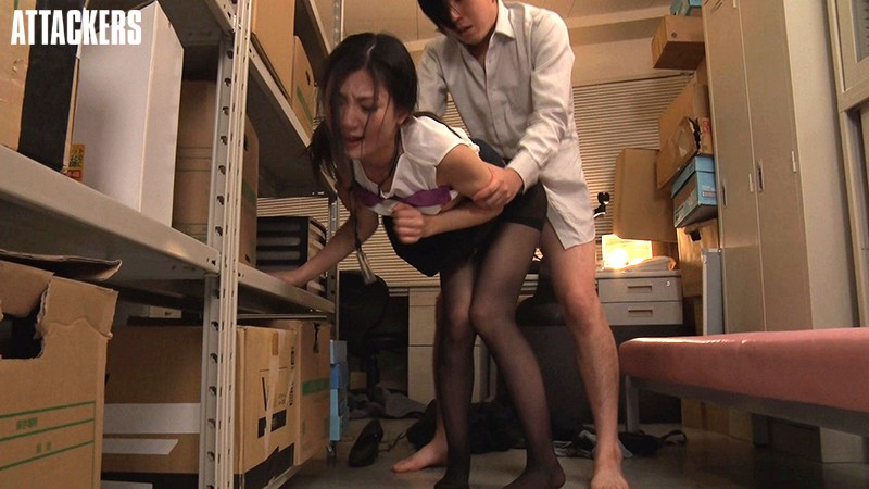 ATID-385 Studio Attackers - I Couldn't Refuse... An Office Lady In An Immoral Sexual Harassment Affair Reina Mizuki big image 6