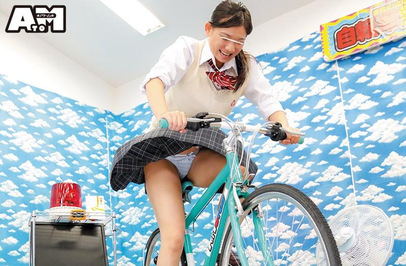 パンチラ連発!素人限定!発電自転車ゲーム 11枚目
