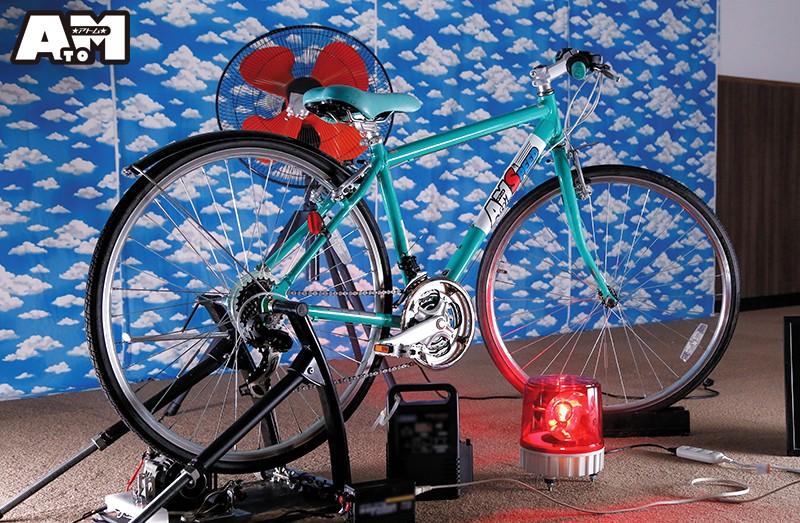 パンチラ連発!素人限定!発電自転車ゲーム 20枚目