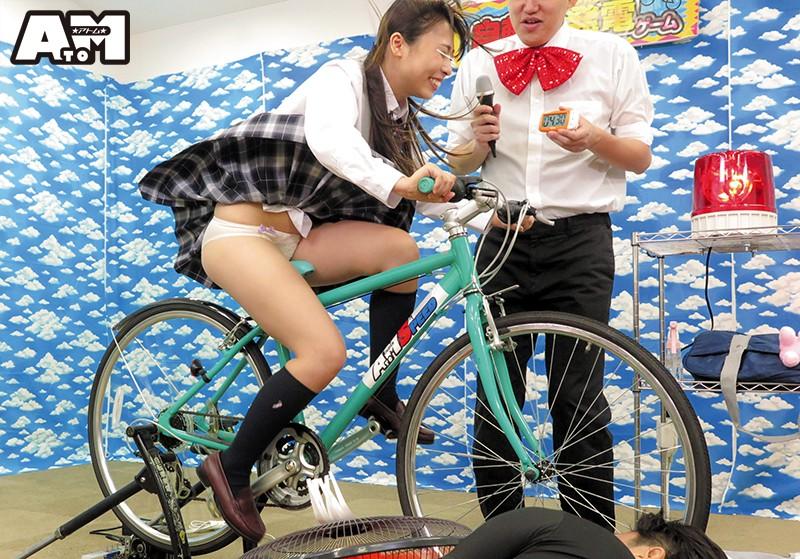 パンチラ連発!素人限定!発電自転車ゲーム 7枚目