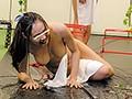 ポロリ必至!アソコも丸見え!?リゾートホテルで見つけた浴衣素人娘限定!タオル一枚だるまさんが転んだ!!障害物競争