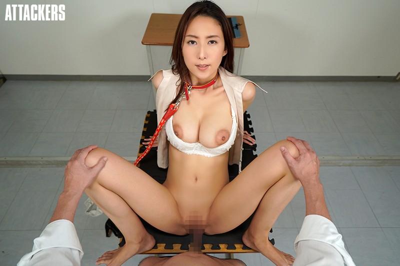 【VR】誰もが憧れる紗栄子先生は僕のいいなり性奴隷。