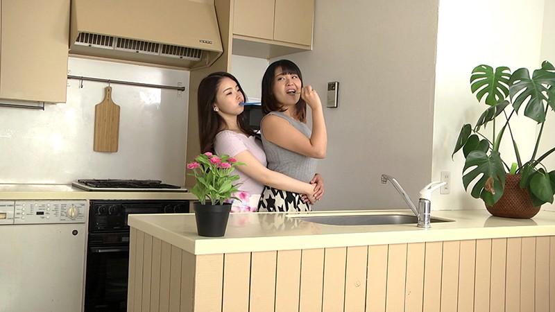 おしかけ同棲レズ 〜ハズレ合コン帰りに出会った巨乳美少女をお持ち帰り〜 さとう愛理 柊紗栄子 画像12