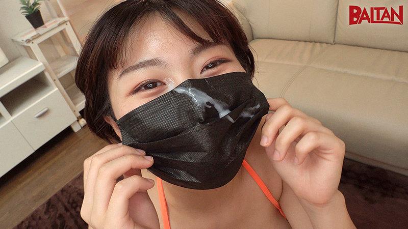 旅館で仲居さんをしている元気で明るいなっちゃん20歳 マスク着用限定AVデビュー! キャプチャー画像 18枚目