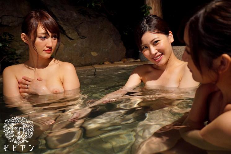 女湯で人妻が出会ってしまったレズビアン 羽田璃子 松井優子 キャプチャー画像 7枚目