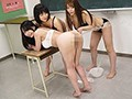 女教師レズビアン雌穴奴● ~私はもう、この女達には逆らえない~sample5