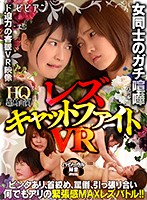 【VR】女同士のガチ喧嘩 レズキャットファイトVR