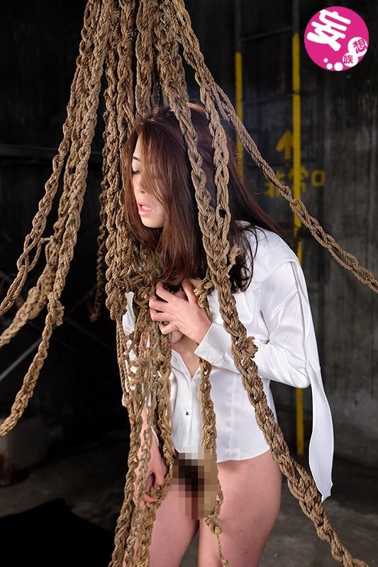 縛り拷問 黒マラと縄女 北条麻妃 画像7