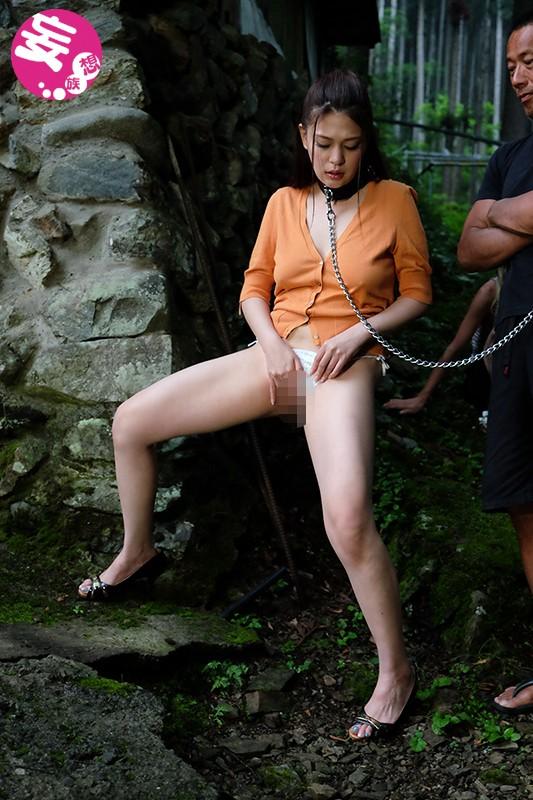 野外露出緊縛 橘メアリーのサンプル画像