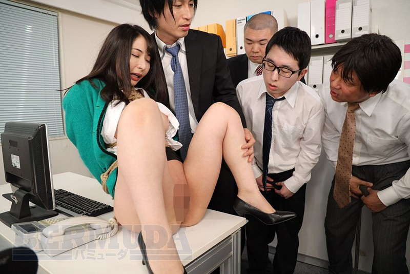 恥辱のオフィス 緊縛女社長 晶エリー 10枚目