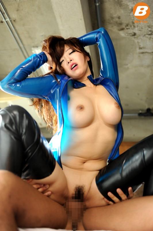 Rubber Lady ラバーに興奮する女 KAORI キャプチャー画像 8枚目