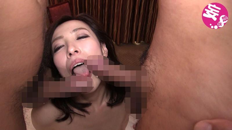 ハンパないマン毛と感度抜群ピンピンサクラ色の乳首のナイスBody! 美熟女四十路女の興奮した膣に濃厚精液連続中出しファック 谷原希美サンプルF6