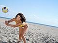 日焼けあとが超エロイ現役黒ギャルビーチバレーボール選手!練習よりも毎日色んなエロメンとパコりたいからAVデビュー!!