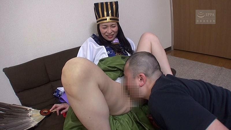 三国志熟女 この美熟女は三国志をアツく語りたいんです! 井上綾子 キャプチャー画像 2枚目
