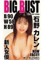 BIG BUST 新人女優 石野カレン B 90 W 58 H 89 ダウンロード