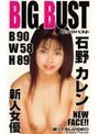 BIG BUST 新人女優 石野カレン B 90 W 58 H 89