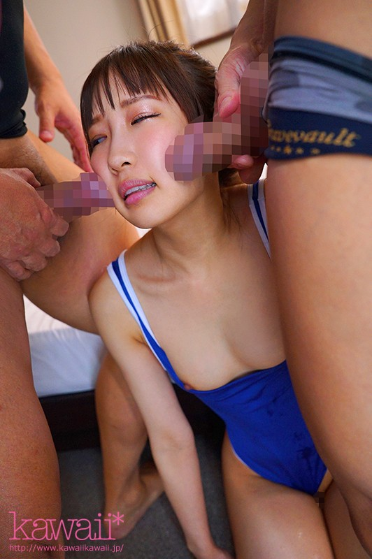 CAWD-069 Studio kawaii - I'm a little but I love big dicks! Naive Height 147cm Minimum Girl AV Debut big image 2