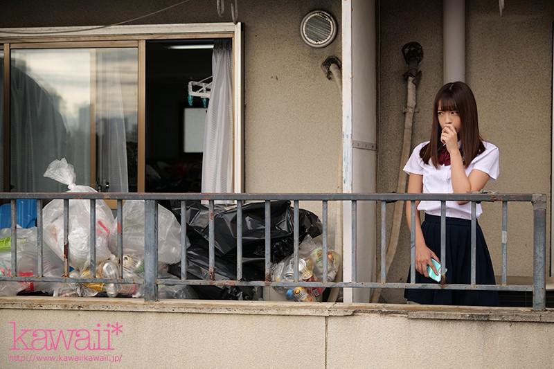 隣人のゴミ部屋で異臭中年おやじに抜かずの連撃中出し46発で孕まされた制服女子の末路… 桜もこ 3