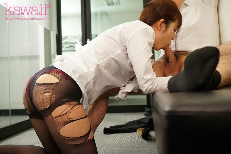 大嫌いな上司に勤務中ずっと舐めじゃくりご奉仕させられたおしゃぶりOLの末路… 桜もこ キャプチャー画像 3枚目