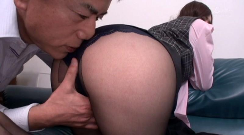 完全撮り下ろし!むっちりエロ尻お姉さん陰部密着黒パンスト穿いたままSEX19