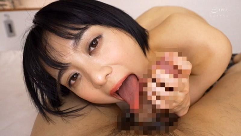 ショートカット美人!スレンダーに見えるがアヒルのようなデカ尻!もなみ鈴 キャプチャー画像 9枚目