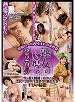 熟女の広場DX2 220分 昭和24〜33年生まれの女性篇 ダウンロード