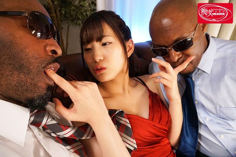 黒人を痴女る 美谷朱里 の画像4