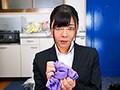 【VR】就活中の女子大生がムレムレ生パンティにシミをつけ続...sample7
