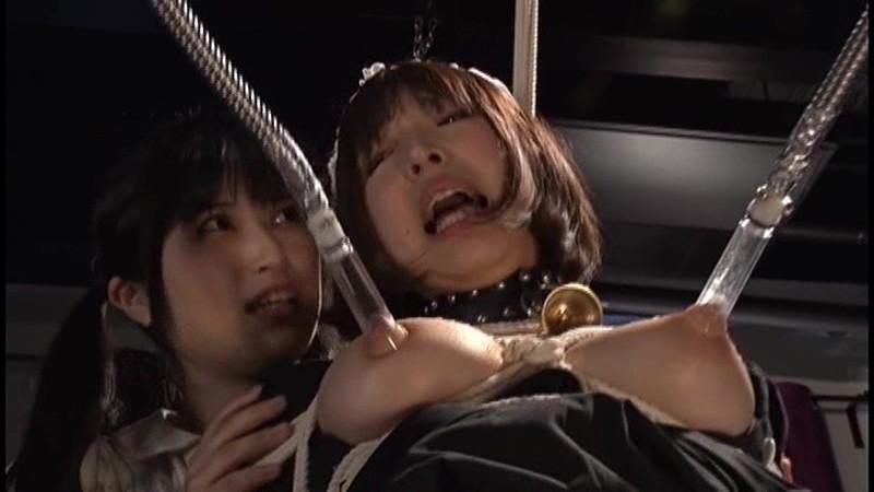 股間を擦られ悶絶する巨乳メイド 年下の女の子に辱められる年上のお姉さん2 かなで自由 神楽アイネ11