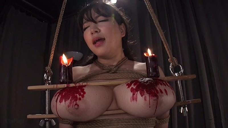 魔乳女戦士 乳房圧搾残虐刑 優月まりな6