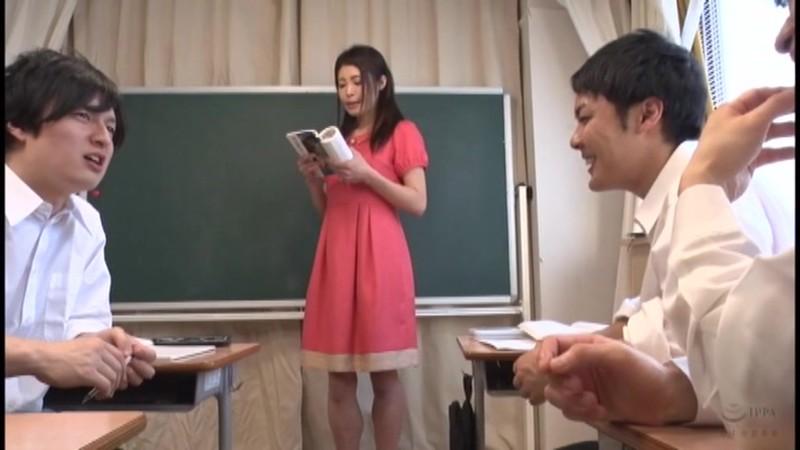 修学旅行で浣腸性癖を仕込まれる女教師 たかの愛 1枚目