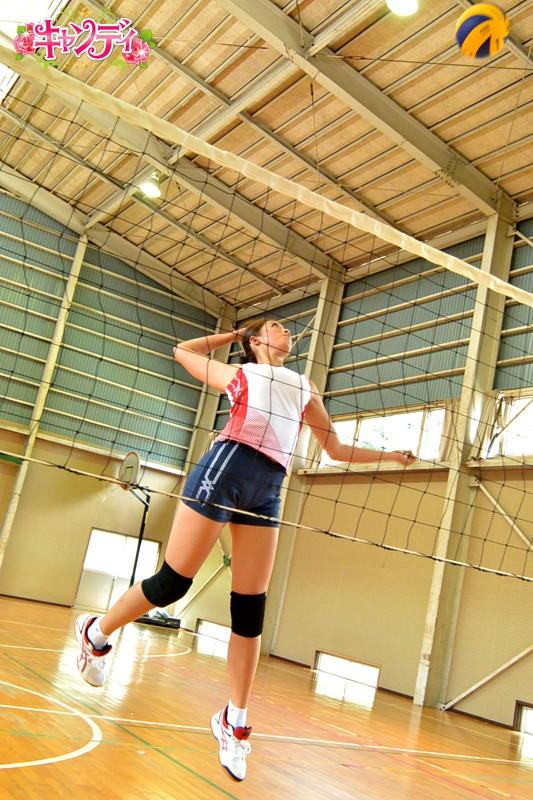 身長178cm 国体出場現役女子大生バレーボール選手 AVデビュー 希望れいな 画像2