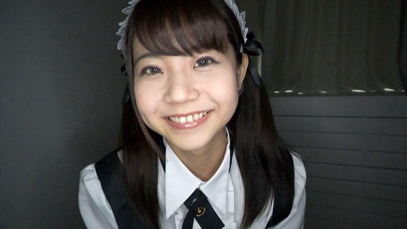 永野いち夏 笑顔かわいいパイパンメイドのご奉仕エッチ キャプチャー画像 1枚目