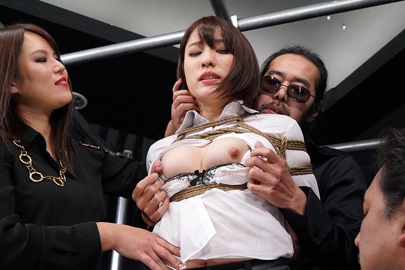 巨乳の女捜査官、梨々花のSM電マ輪姦無料H動画!【拘束、レイプ、緊縛動画】
