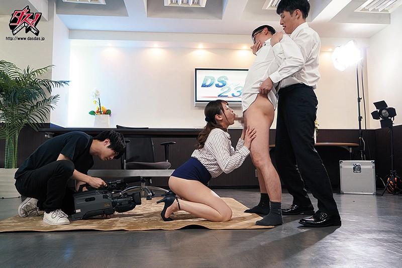 催眠洗脳された女子アナは嫌がりながらも淫乱ビッチになっていた 秋山祥子 5枚目