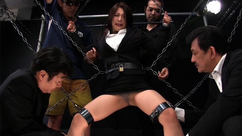断末魔の女体は奈落に沈む 轟沈鉄枷地獄 EPISODE-06:ついに拿捕された女幹部、人生最悪の拷虐昇天に哭く 一条綺美香 5枚目